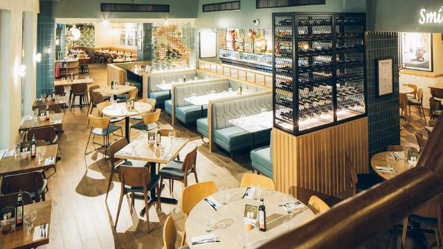 Ask italian the o restaurant visitlondon