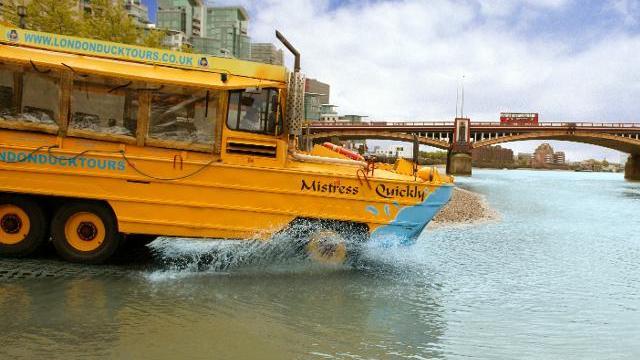 Ride The Duck Tour Bus