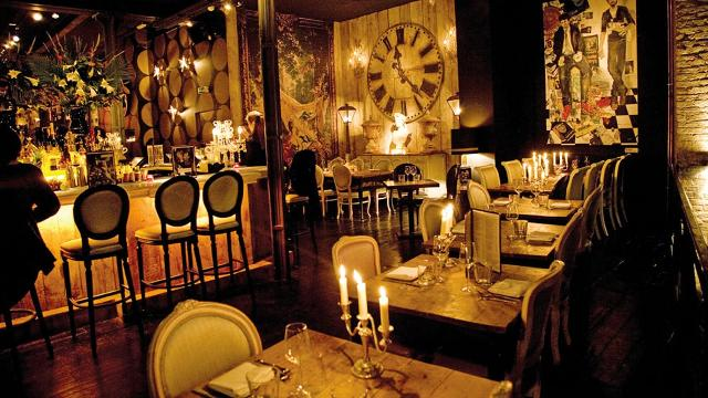 Beach Blanket Babylon Shoreditch European Restaurant
