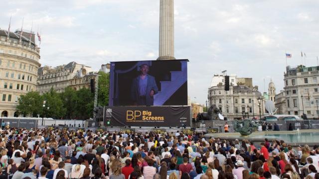 Image result for BP Big Screens in London