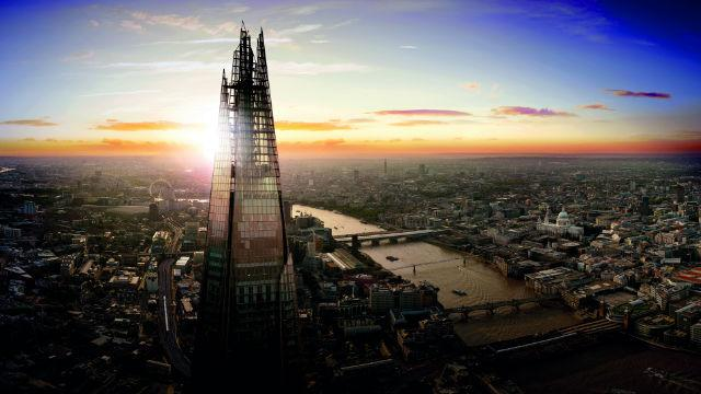 Resultado de imagem para the view from the shard