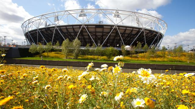 Olympic Park London Stadium