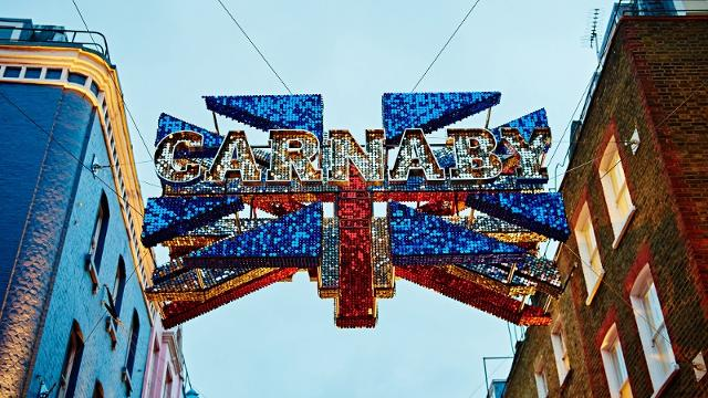 Carnaby Shopping Area Visitlondon Com