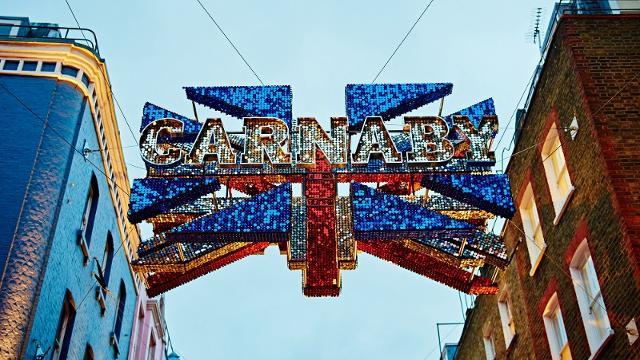 Carnaby Einkaufsviertel Visitlondon Com