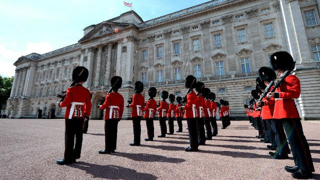 Image result for buckingham palace guards