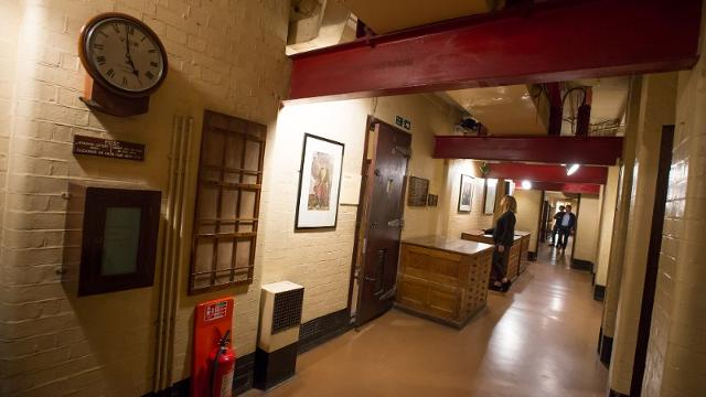 Churchill war rooms historic site house - Churchill war cabinet rooms ...