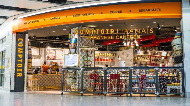 Comptoir Libanais At Heathrow Airport Restaurant