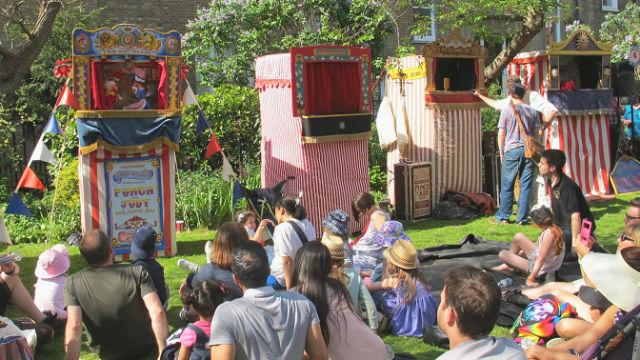 Art Events Calendar London : Covent garden may fayre and puppet festival special