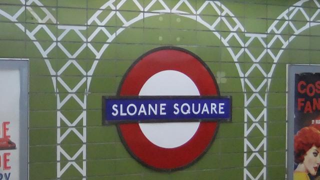 Sloane Square Underground Station Tube Station