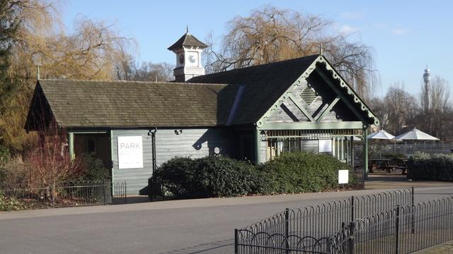 The Boathouse Caf Regents Park