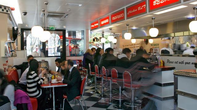 London Easy Access Restaurant