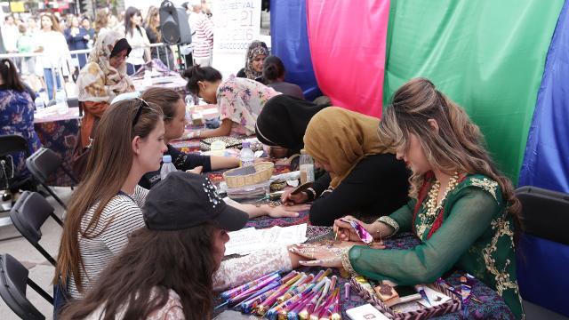 Image result for eid festival trafalgar