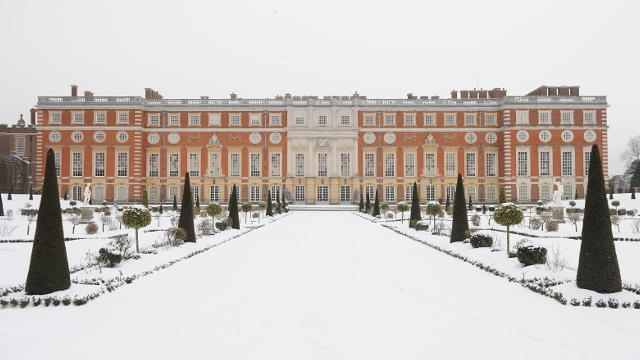 Images Christmas At Hampton Court Palace Pinterest