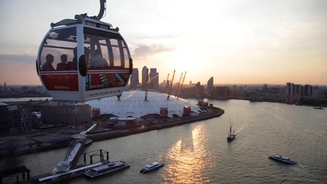 Emirates Air Line Cable Car London Attraction