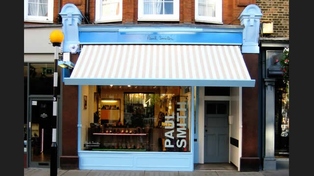 Paul Smith Marylebone High Street Shoe And Accessories