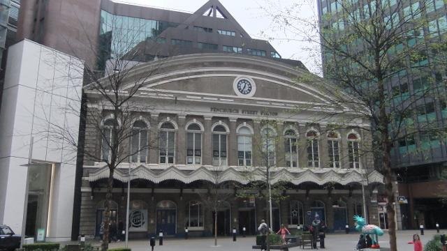 Fenchurch Street Railway Station London Rail Station