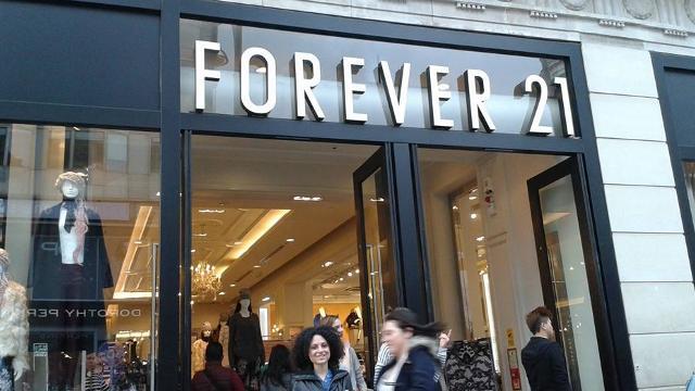 Forever 21 Fashion Shop Visitlondon Com