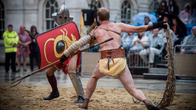 Gladiator fighter