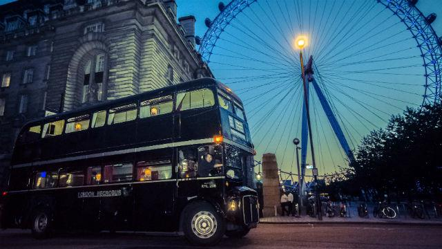 the london ghost bus tours