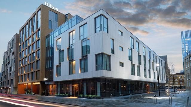 Hilton London Bankside Hotel Visitlondon Com