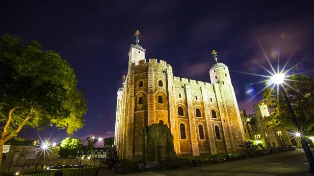 Image result for Tower of London at night photo