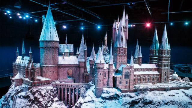 Hogwarts In The Snow At Warner Bros Studio Tour London The Making