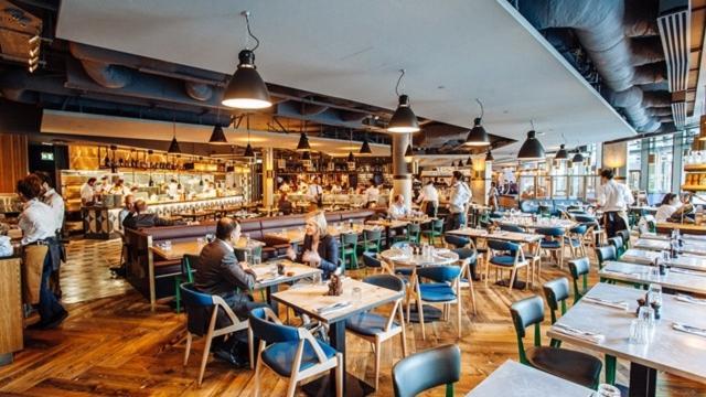 Jamie S Italian London Bridge Food