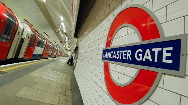 Lancaster Gate Underground Station Tube Station