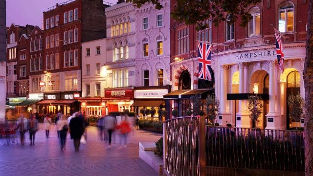 Christmas Hotels In London