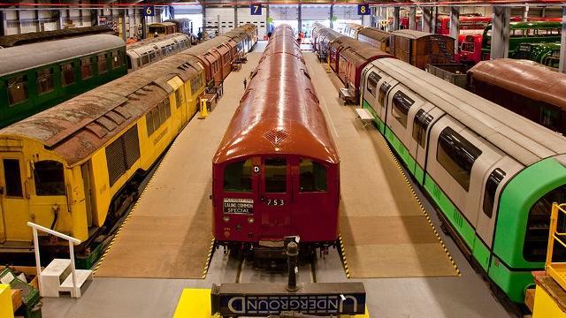 London Transport Museum Depot Touristenattraktion Visitlondoncom