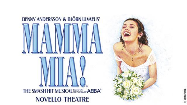 Mamma Mia! at the Novello Theatre - Musical