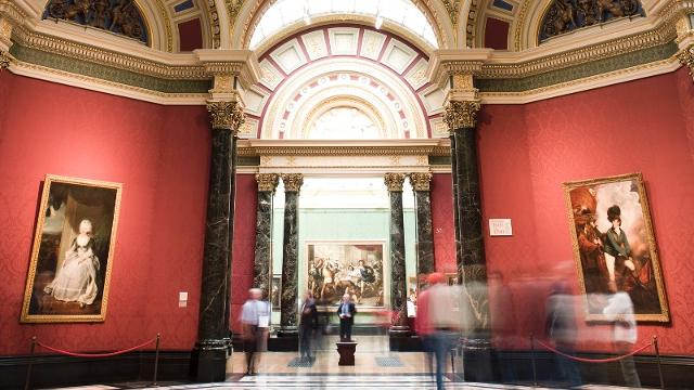 La National Gallery : London National Gallery : visite du musée d ...