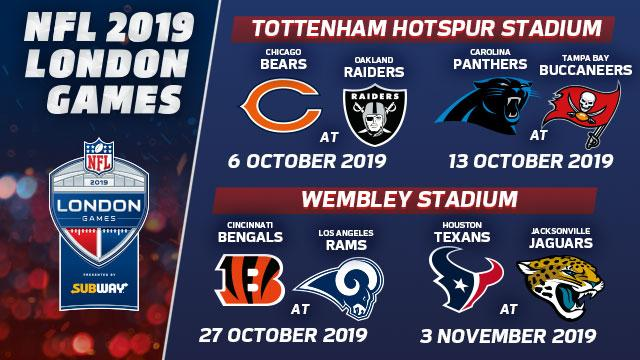 London Games Nfl