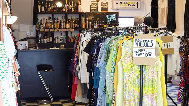 450bc50e9214e0 Boutique vintage shop by day, bar and events space by night - Paper Dress  Vintage does just about everything. Read More