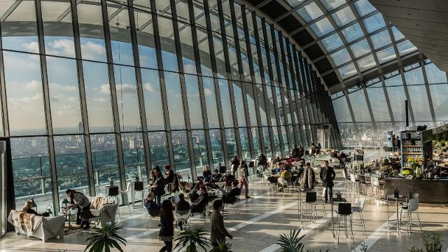 Sky Pod Bar At Sky Garden Bar Visitlondon Com