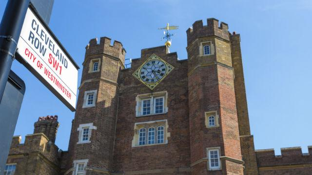 St James S Palace Site Ch 226 Teau Historique Visitlondon Com