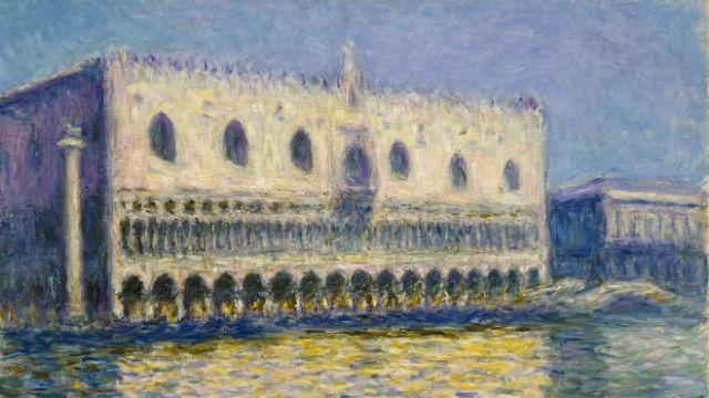 The Credit Suisse Exhibition Monet Amp Architecture At