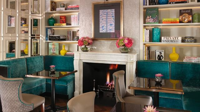 The Drawing Room At Flemings Mayfair Hotel