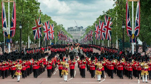 Image result for trooping of the colour