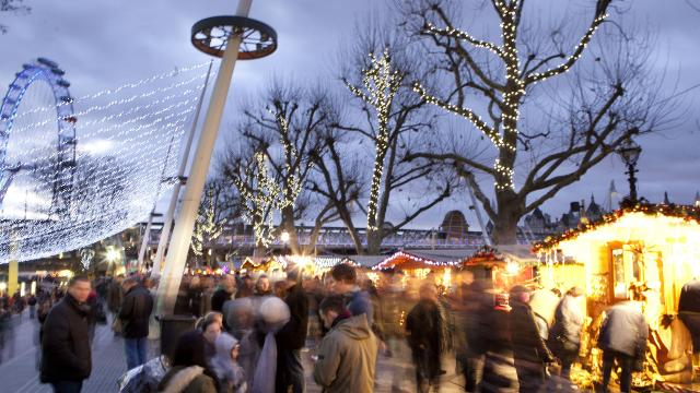 Winter at Southbank Centre - Christmas