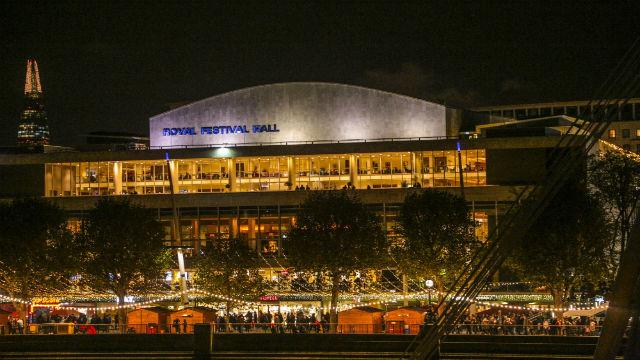 Winter festival at Southbank Centre - Christmas