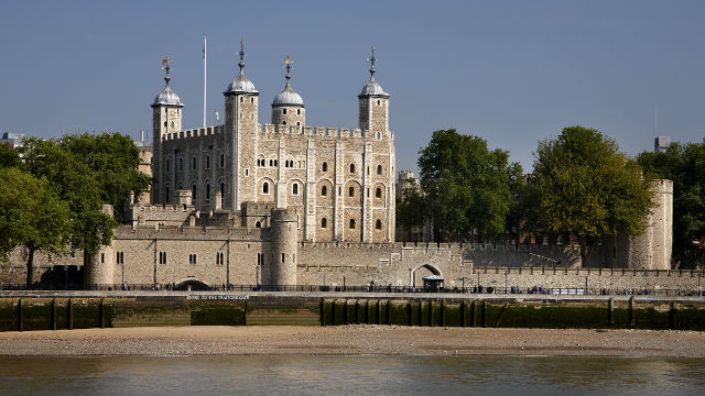 Tower of London from the South Bank
