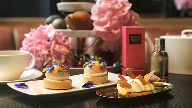 Win a Molton Brown-inspired afternoon tea