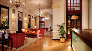 The Bloomsbury Hotel lobby