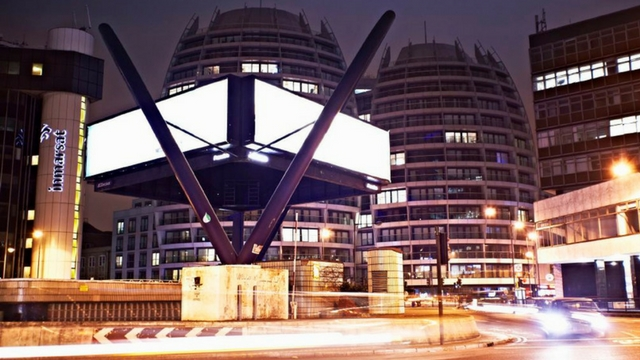 Old Street roundabout - nicknamed 'Silicon Roundab