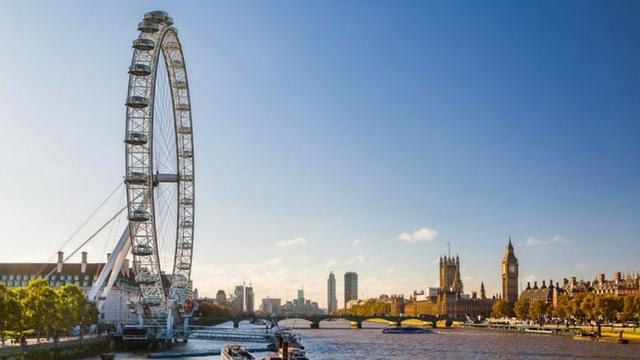 London Eye with Big Ben