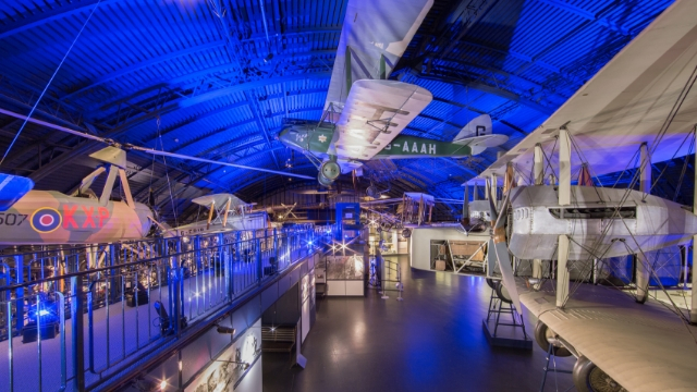 Illuminate venue at The Science Museum
