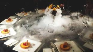 The London Marriott's Lemon Posset dish