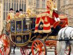Her Majesty the Queen arrives at the Houses of Parliament