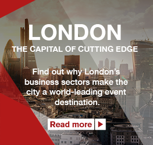London, The Capital of Cutting Edge. Find out why London's business sectors make the city a world-leading event destination. Read More >